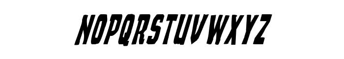 Demon Priest Condensed Italic Font LOWERCASE