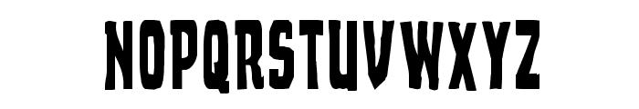 Demon Priest Condensed Font UPPERCASE