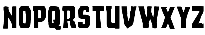 Demon Priest Expanded Font UPPERCASE
