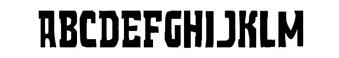 Demon Priest Regular Font UPPERCASE