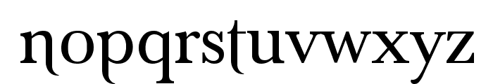 Denial Old Style Regular Font LOWERCASE