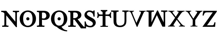 Denial2RegularBold Font UPPERCASE
