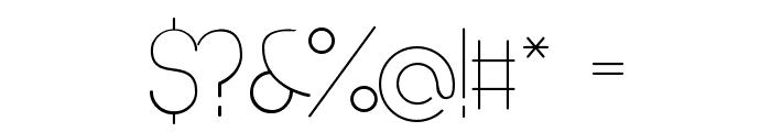 Denigan Font OTHER CHARS
