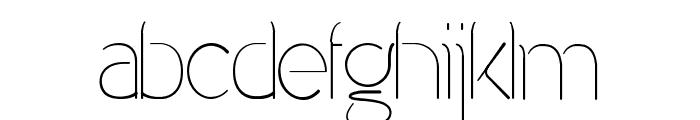 Denigan Font LOWERCASE