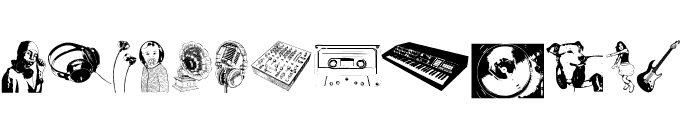 Denise DJ Font Font LOWERCASE