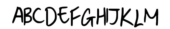 Denise__s_Manuscript Font UPPERCASE