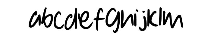 Denise__s_Manuscript Font LOWERCASE