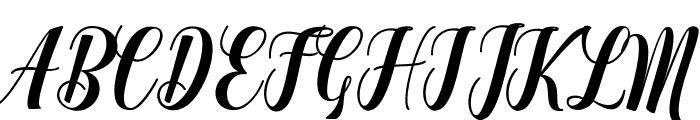 Denmahis Font UPPERCASE