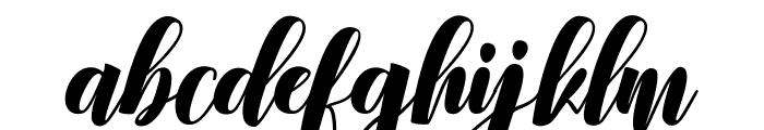 Denmahis Font LOWERCASE