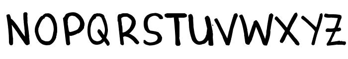 Denne Marker Font UPPERCASE