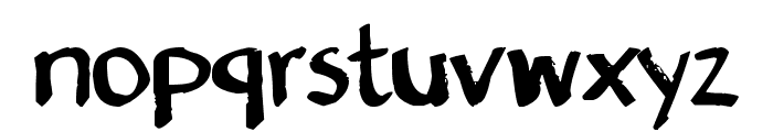 Denne's Old Handwriting Font LOWERCASE