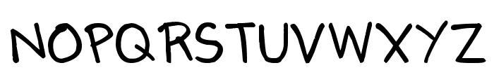 Denne's Summer Font UPPERCASE