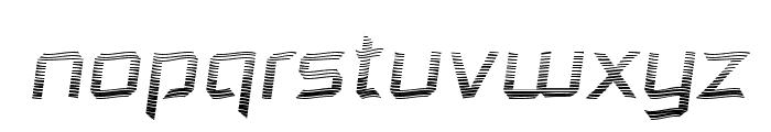 Dennis Hill Speeding Font LOWERCASE