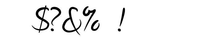 Dennor Light Font OTHER CHARS