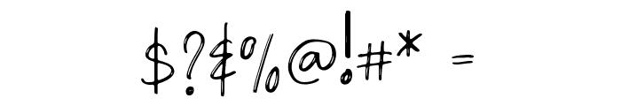Densfort Font OTHER CHARS