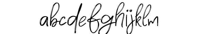 Densfort Font LOWERCASE