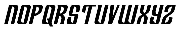 Department H Bold Semi-Italic Font UPPERCASE