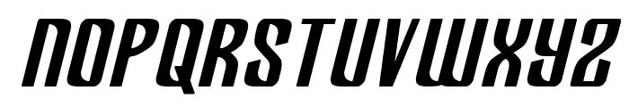 Department H Bold Semi-Italic Font LOWERCASE