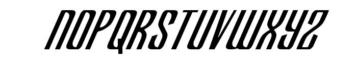 Department H CondensedItalic Font LOWERCASE