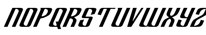 Department H Expanded Italic Font UPPERCASE