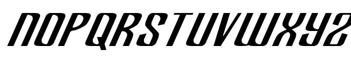 Department H Expanded Italic Font LOWERCASE