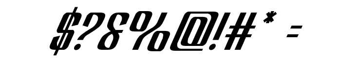 Department H Italic Font OTHER CHARS