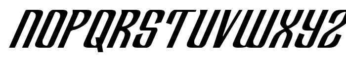 Department H Italic Font UPPERCASE