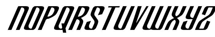 Department H Italic Font LOWERCASE