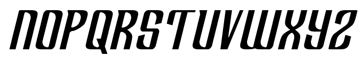 Department H Semi-Italic Font UPPERCASE