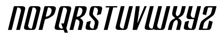 Department H Semi-Italic Font LOWERCASE