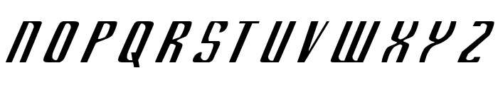 Department K Font UPPERCASE