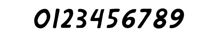 DephionSlanted Font OTHER CHARS