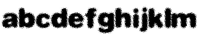 Dephunked BRK Font LOWERCASE