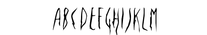 Deportees Font UPPERCASE