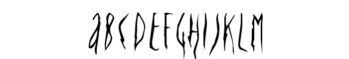 Deportees Font LOWERCASE
