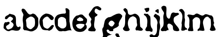 Depot Font LOWERCASE