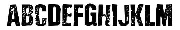 Depressionist 3 Revisited Font LOWERCASE