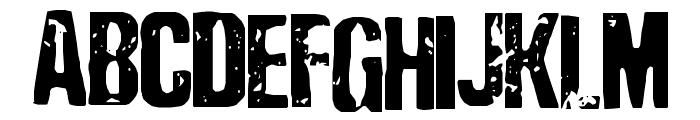 Depressionist Three Font UPPERCASE