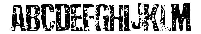 Depressionist Three Font LOWERCASE