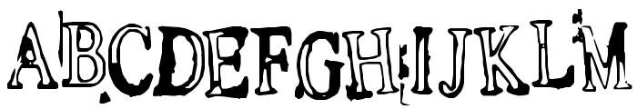 Depressionist v1.0 Font UPPERCASE