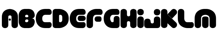 Depth Charge  SemiPhat Font LOWERCASE