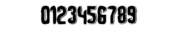 Depth of Toonizm Font OTHER CHARS