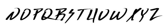 Deranged 1 Font LOWERCASE