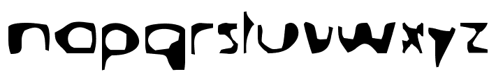 Deranged-Tabloid Font LOWERCASE