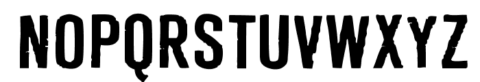 Derivat No1 Font UPPERCASE