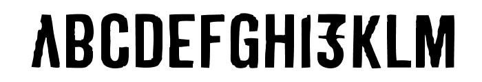 Derivat No1 Font LOWERCASE