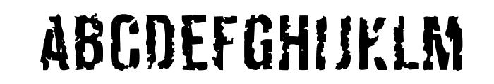 Derivat No2 Font UPPERCASE