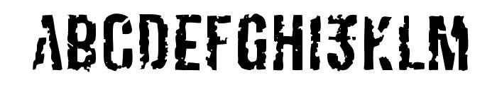 Derivat No2 Font LOWERCASE