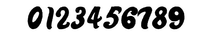 Derniere Script Font OTHER CHARS
