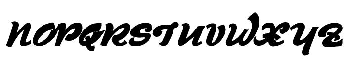 Derniere Script Font UPPERCASE